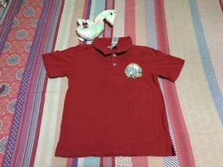 Baby boy poloshirt size 4T. Preloved or US bale.
