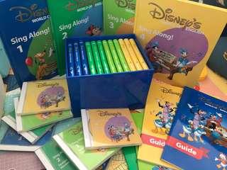 Disney's world of English 迪士尼美語世界 (連櫃)