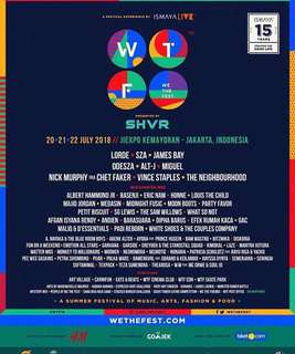 We The Fest Ticket (3- Days Pass)