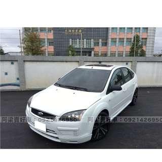 2005年- 福特 - FOCUS (原廠手排) 買車不是夢想.輕鬆低月付.歡迎加LINE.電(店)洽
