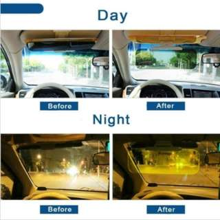 Kaca Anti Silau Siang dan Malam / Anti-Glare Car Windshield Visor