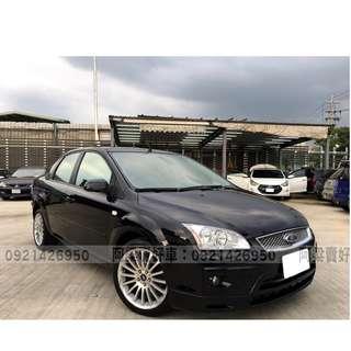 2005年- 福特 - FOCUS 買車不是夢想.輕鬆低月付.歡迎加LINE.電(店)洽