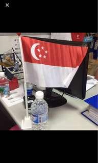 Singapore standing flag