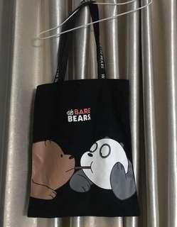 Miniso BARE BEARS TOTE BAG