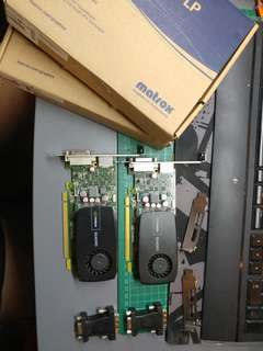 Nvidia Quadro 600 gfx cards