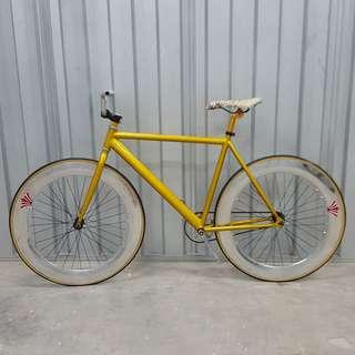 🚚 Custom Gold-Chrome Theme Setup 70mm wheelset