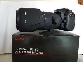 Nikon D7000 incl 3 lenses