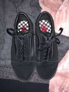 Vans sk8 old skool all black