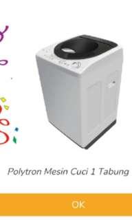 Mesin cuci polytron 7kg