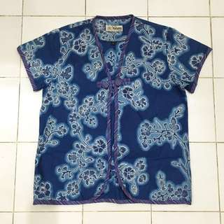 Blue Batik Outer