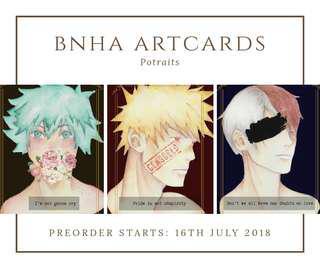 BNHA ART PRINTS
