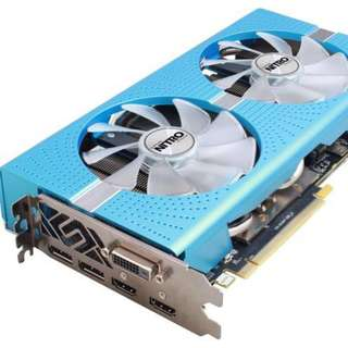 SAPPHIRE RX580 8GD5 Special Edition display card