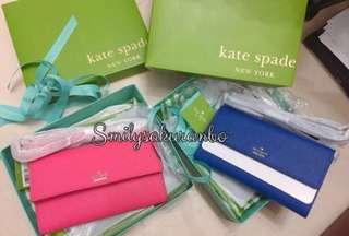 Kate Spade 銀包袋