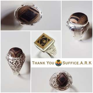 Thank You Suffice.A.R.K. for My 3 Awesome Customer's Rings