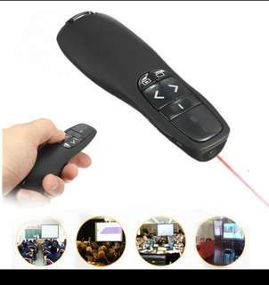 Wireless Portable 2.4 GHz PowerPoint Presenter / Clicker / Pointer
