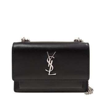 SAINT LAURENT YSL 聖羅蘭 手袋 452157 D422N 1000 牛皮 黑色 長 17 x 寬 7 x 高 13 cm 專門店售HKD12500 Full set Real and New