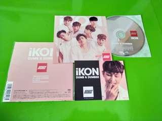 韓流DONGHYUK IKNC卡+CD