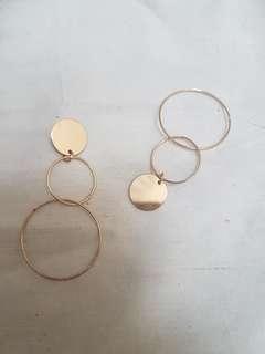 tripple loop earring