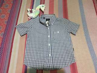 Baby boy poloshirt size 4T. Preloved or US bale. With tag.