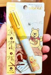 香港迪士尼Winnie the pooh便携小剪刀