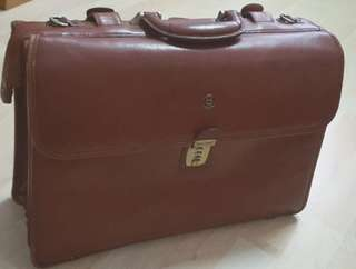 Barry Smith Leather Briefcase