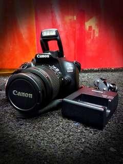@Used CANON EOS 1300D DSLR Camera