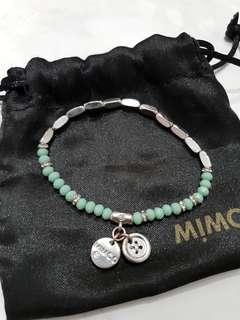 Mimco Memoir Bead Turquoise Bracelet