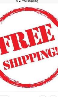 FREE SHIPPING WORTH 200 & up WITHIN METRO MANILA
