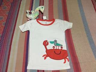 Boy shirt size 5T. Preloved or US bale, with tag.
