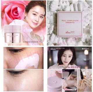 HANSKIN REAL COMPLEXION CREAM EX 玫瑰粉紅霜升級版 50ml 1盒