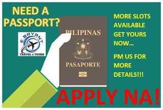 Passporting