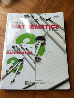 Math Textbook New Syllabus Mathematics 7th Edition Book 3