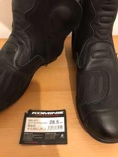 Komine motorbike Boots