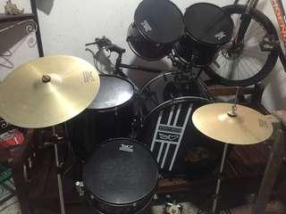 Steely Drum set