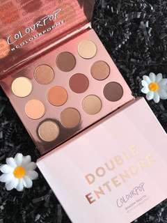🚚 INSTOCK! Colourpop Double Entendre Eyeshadow Palette