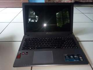 Asus X550Z gameing laptop second