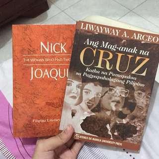 ANG MAG-ANAK NA CRUZ AND THE WOMAN WHO HAD TWO NAVELS BOOK