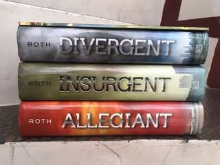 DIVERGENT Trilogy Novel Series + The World of V. Roth's Divergent Series