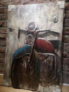 Industrial Metal Painting