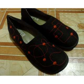 Camper Chic Slightly Used Brown Ladies Shoes SUPERSALE
