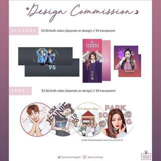 🚨PRIORITISING IDEAL CUT & HALLYU POP FEST ORDERS🚨fansupport / fanpack / fanproject (design commissions)