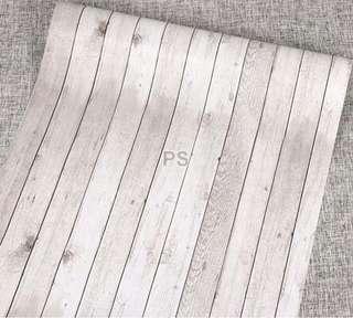 Wallpaper light wood
