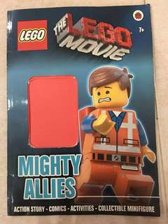 The LEGO Movie Mighty Allies Action story and comic