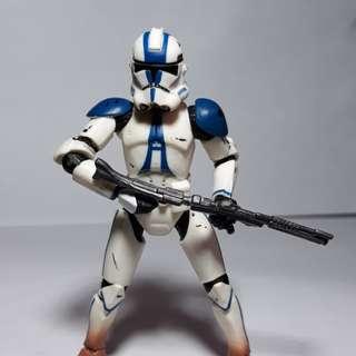 Star wars 501st trooper 3.75 loose