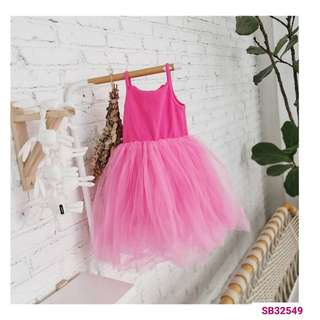 Candy color tutu dress (wechat : Strawmint)