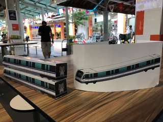 Exclusive **SALES** Downtown Line MRT Train Model