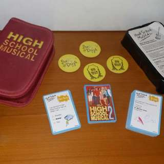 COLLECTIBLE, High School Musical 2, STAR DAZZLE CARD Game