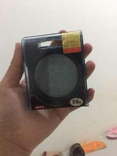 Kenko Pro 1 UV Filter 57 mm lens lensa untuk foto gerhana