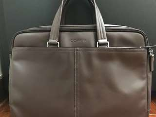 Coach bag briefcase