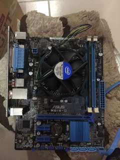 🚚 1155 Mother board 2gb ram good condition